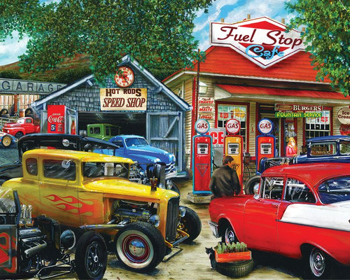 Hot Rod Cafe 1000pc