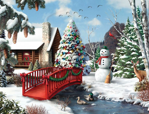 Winters Home 500pc