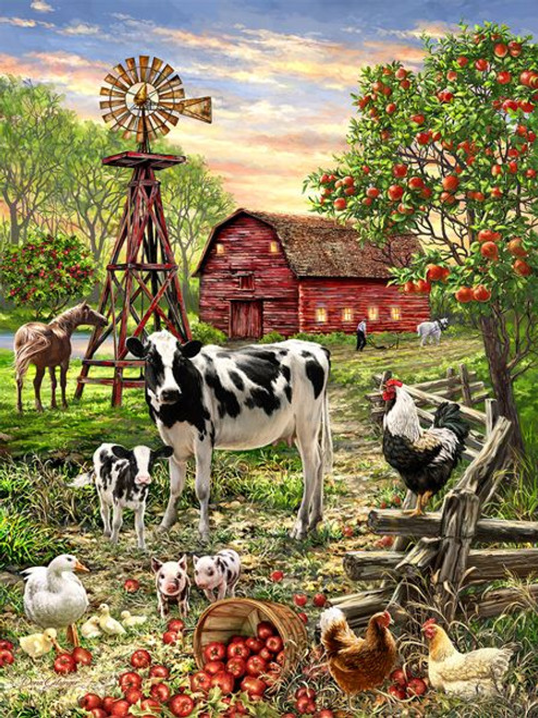 Barnyard Animals 500pc