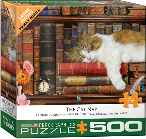The Cat Nap 500pc (Large Format) (Sold Out)