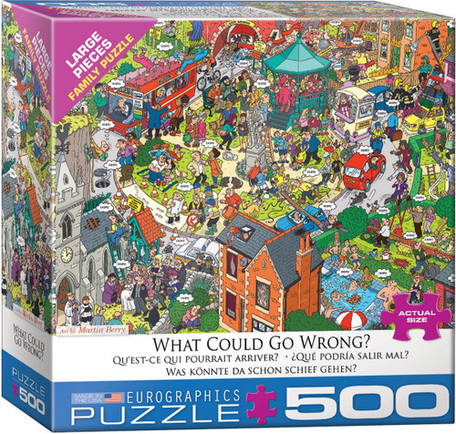 What Could go Wrong? 500pc (Large Format)