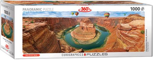 Horseshoe Bend, Arizona 1000pc (Panoramic Puzzle)