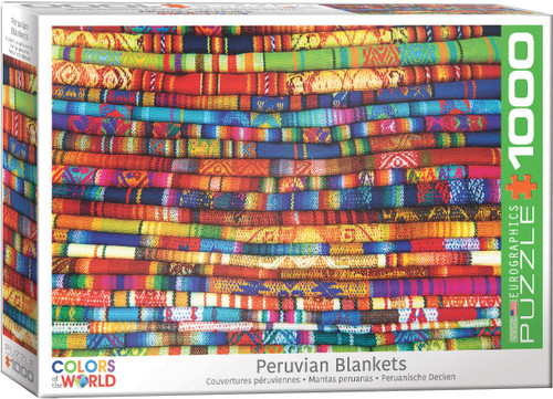 Peruvian Blankets 1000pc (Sold Out)