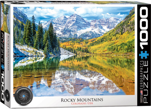 Rocky Mountains 1000pc (Sold Out)