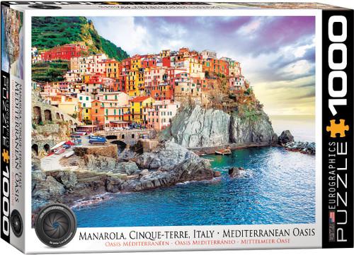 Manarola, Cinque-Terre, Italy - Mediterranean Oasis 1000pc