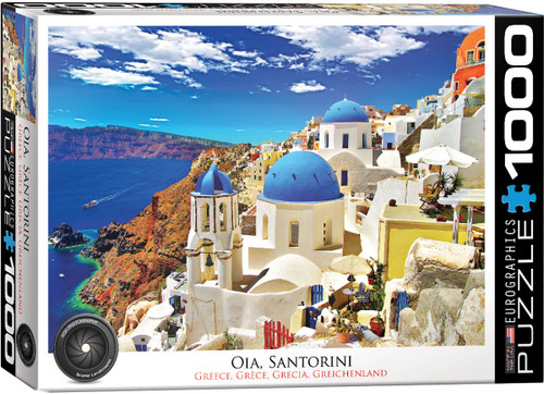 Oia, Santorini - Greece 1000pc (Sold Out)
