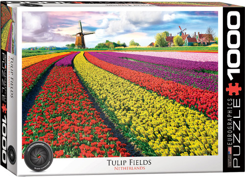 Tulip Field - Netherlands 1000pc (Sold Out)