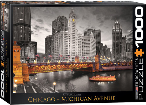 Chicago - Michigan Avenue 1000pc (Sold Out)