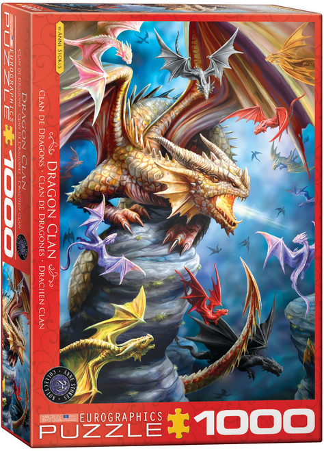 Dragon Clan—Anne Stokes 1000pc