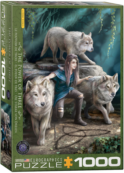 The Power of Three—Anne Stokes 1000pc (Sold Out)