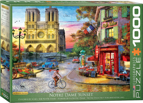 Notre Dame Sunset 1000pc (Sold Out)