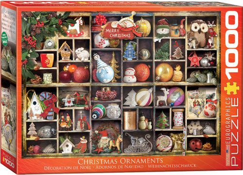 Christmas Ornaments 1000pc—Eurographics