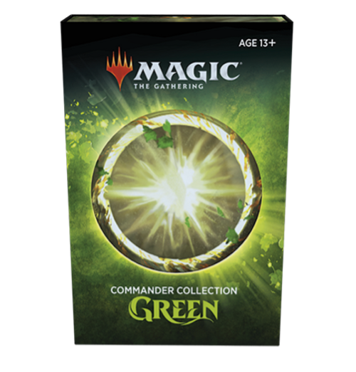 Commander Collection: Green, Regular Non-Foil—Magic the Gathering