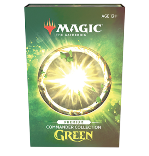 Commander Collection: Green, PREMIUM FOIL Edition—Magic the Gathering (Pre-Order)