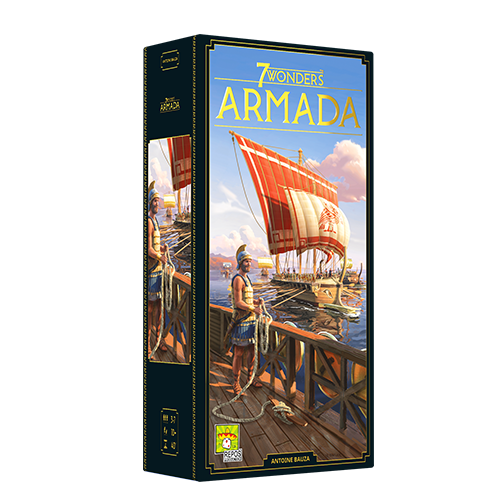 7 Wonders: Armada, New Edition (Expansion, Pre-Order) (Pre-Order)