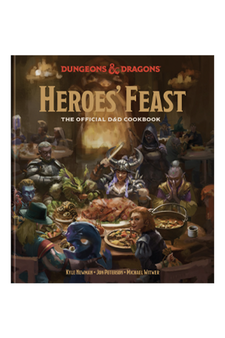D&D Heroes' Feast—Hardcover Cookbook (Pre-Order)