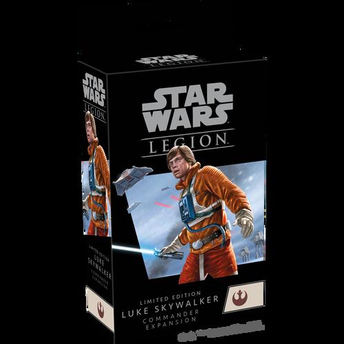 Limited Edition Luke Skywalker Commander—Star Wars Legion (Special Promo Available - See Item Description)