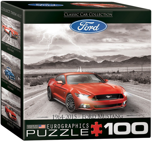 2015 Ford Mustang 100pc (Mini-Pieces) (Sold Out)