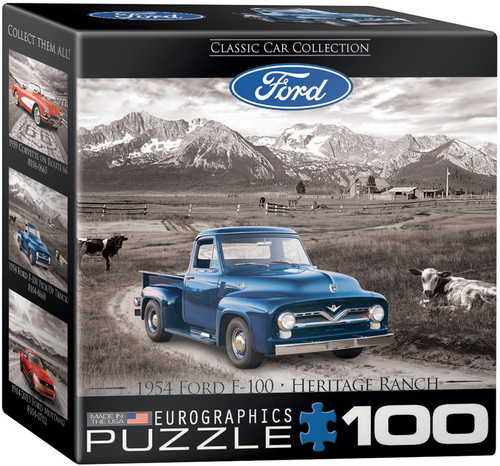 1954 Ford F-100  100pc (Mini-Pieces)