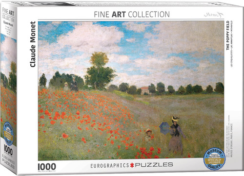 The Poppy Field - Claude Monet 1000pc (Sold Out)