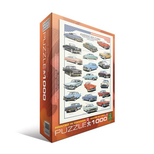 American Cars of the Fifties 1000pc (Sold Out)