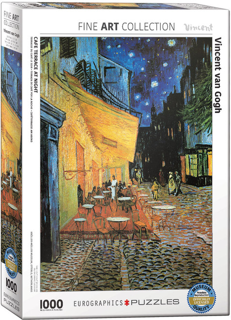 Cafe at Night - Van Gogh 1000pc (Sold Out)