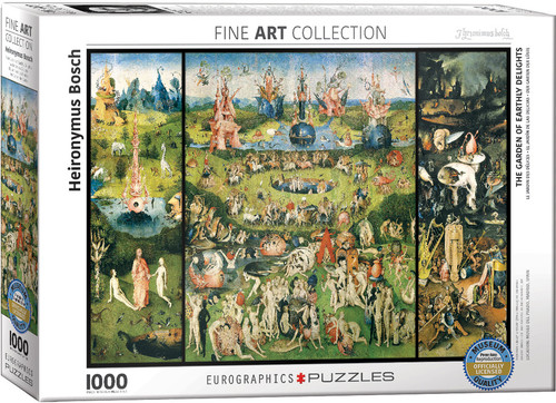 The Garden of Earthly Delights - Hieronymus Bosch 1000pc (Sold Out)