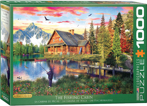 The Fishing Cabin by Dominic Davison 1000pc (Sold Out)