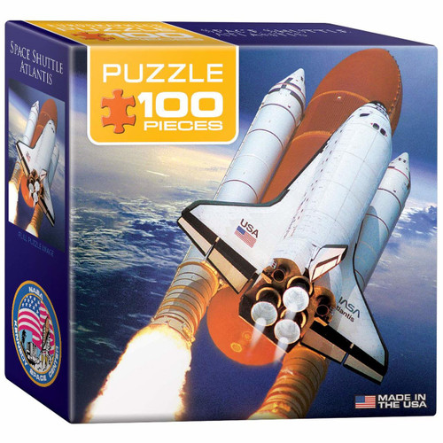 Space Shuttle Atlantis Mini-Pieces 100pc (Sold Out)