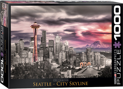 Seattle City Skyline 1000pc (Sold Out)
