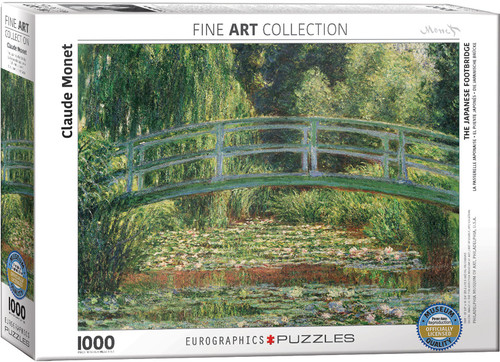 The Japanese Footbridge, Claude Monet 1000pc (On Order)