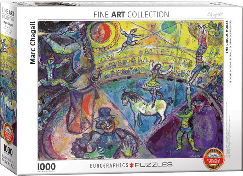 The Circus Horse - Marc Chagall 1000pc