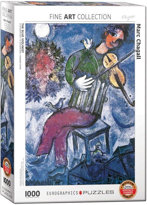 The Blue Violinist - Chagall 1000pc  (Sold Out)