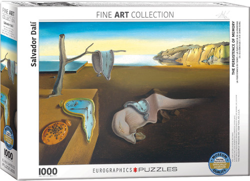 The Persistence of Memory - Salvador Dali 1000pc (Sold Out)