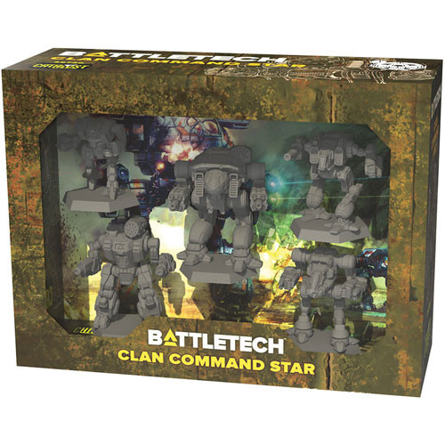 Clan Command Star—Battletech (Sold Out)