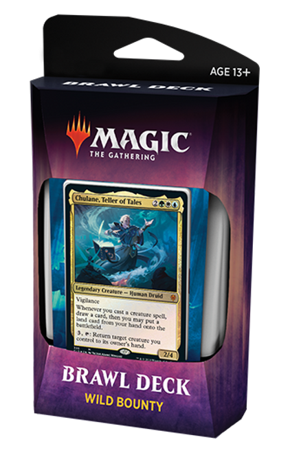 Wild Bounty Brawl Deck, Throne of Eldraine—Magic the Gathering
