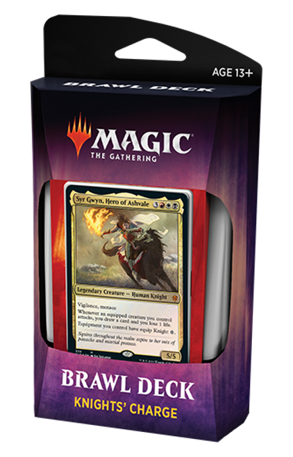 Knight's Charge Brawl Deck, Throne of Eldraine—Magic the Gathering
