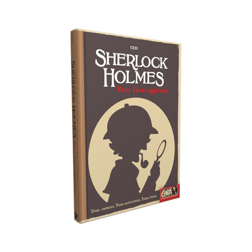 Sherlock Holmes: Four Investigations (Graphic Novel RPG)