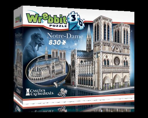 Notre-Dame de Paris 3D Puzzle