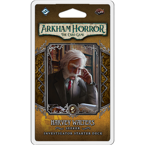 Harvey Walters Starter Deck—Arkham Horror The Card Game (Sold Out)
