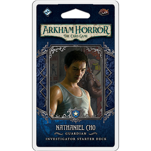 Nathaniel Cho Starter Deck—Arkham Horror The Card Game