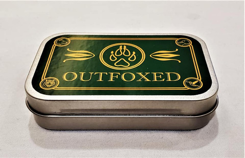 Outfoxed: A Mint Tin Game of Drunken Deduction