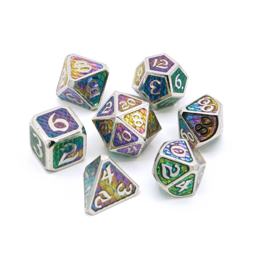 Drakona Khaos Aether, Metal Dice Set (Sold Out)