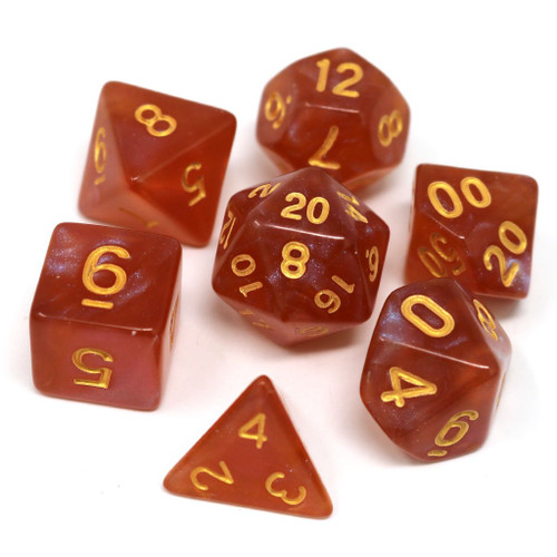 Autumn Equinox Dice Set