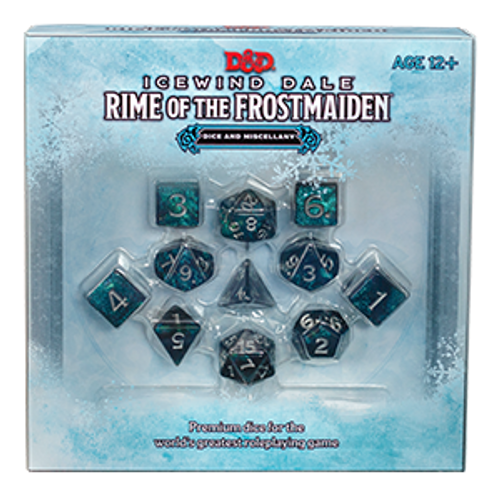 Dice & Miscellany—Icewind Dale: Rime of the Frostmaiden
