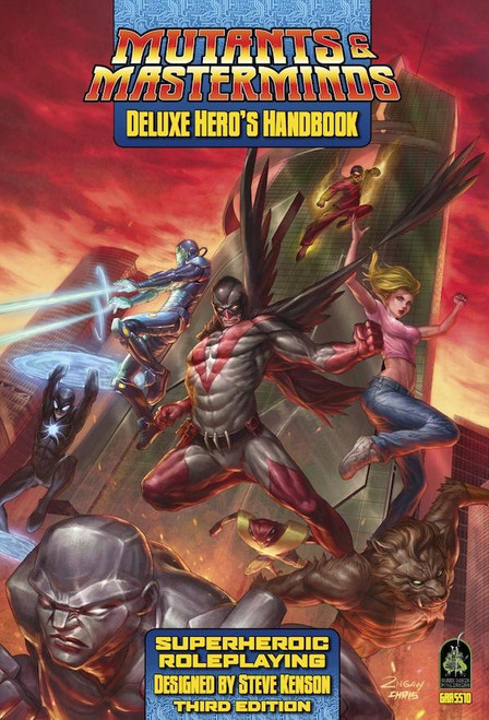 Mutants & Masterminds: Deluxe Hero's Handbook (Sold Out)