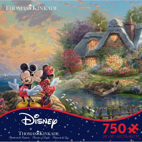 Mickey & Minnie Sweetheart Cove 750pc