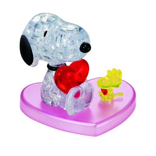 Snoopy Heart Crystal 3D Puzzle