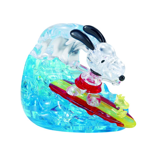 Snoopy Surf Crystal 3D Puzzle