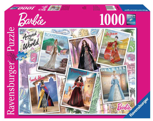 Barbie Around the World 1000pc (Sold Out)